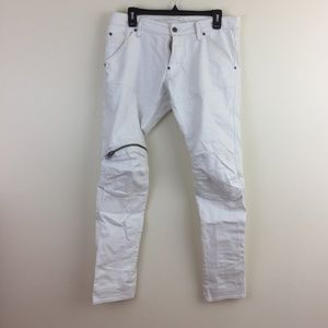 g star 3d ankle zipper jeans